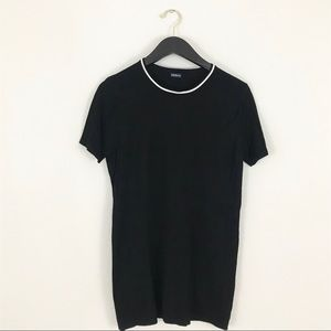 Brandy Melville small Sweater Dress Tunic Black
